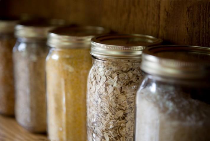 7 απλοί τρόποι αποθήκευσης των ξηρών τροφίμων
